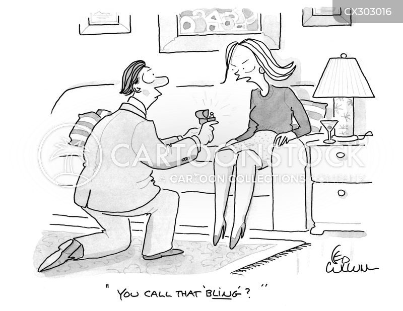 engaged cartoon