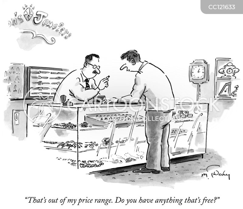 Jewellery Shops cartoon