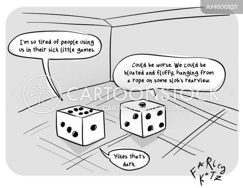 dice games cartoon