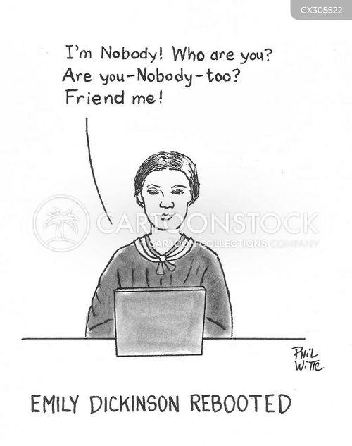 social media post cartoon