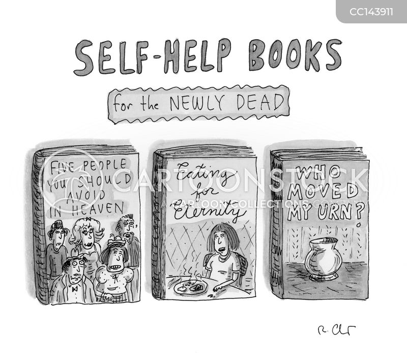 self help cartoon