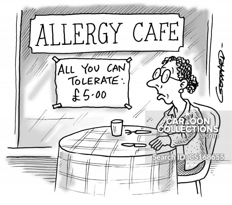 wheat allery cartoon