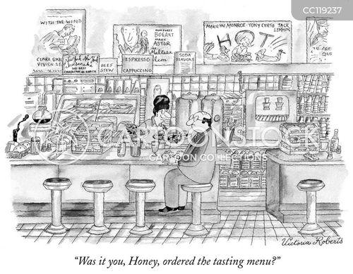 ordered cartoon