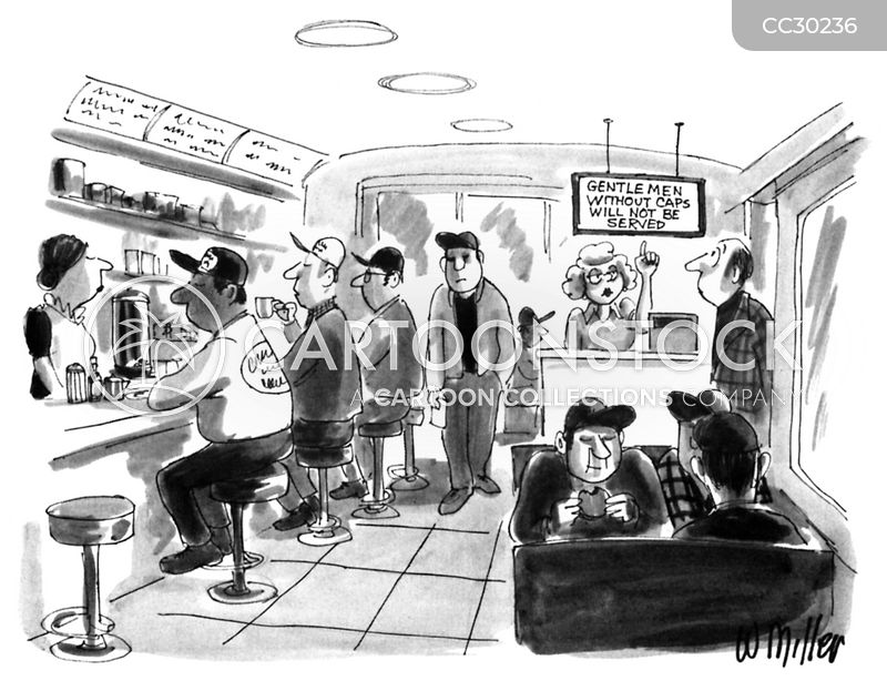 diner cartoon