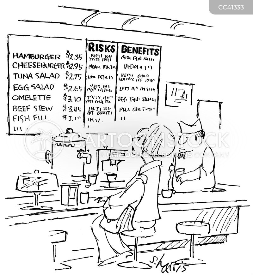 nutritional information cartoon