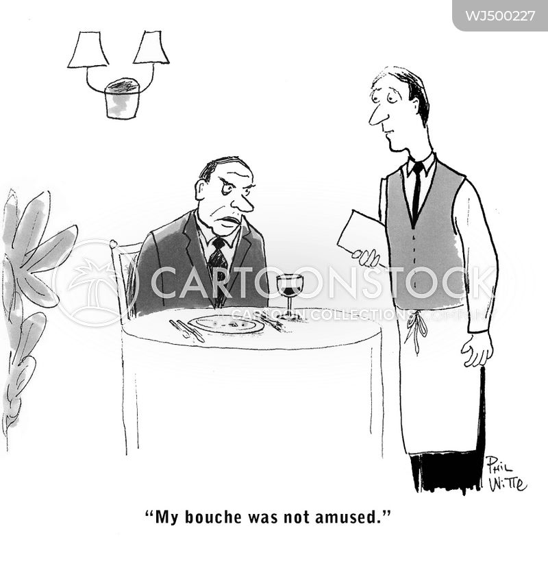 expensive food cartoon