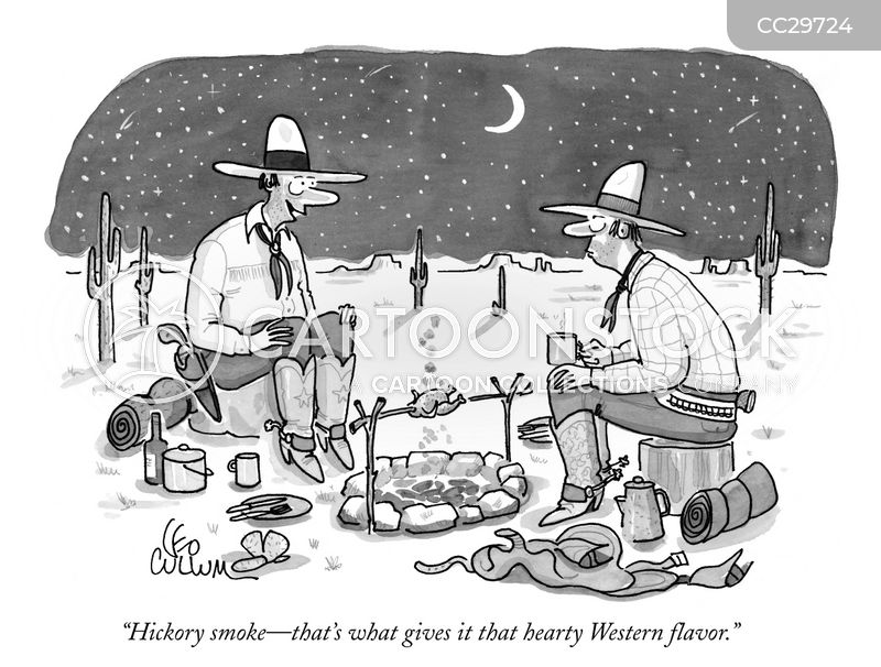western flavor cartoon