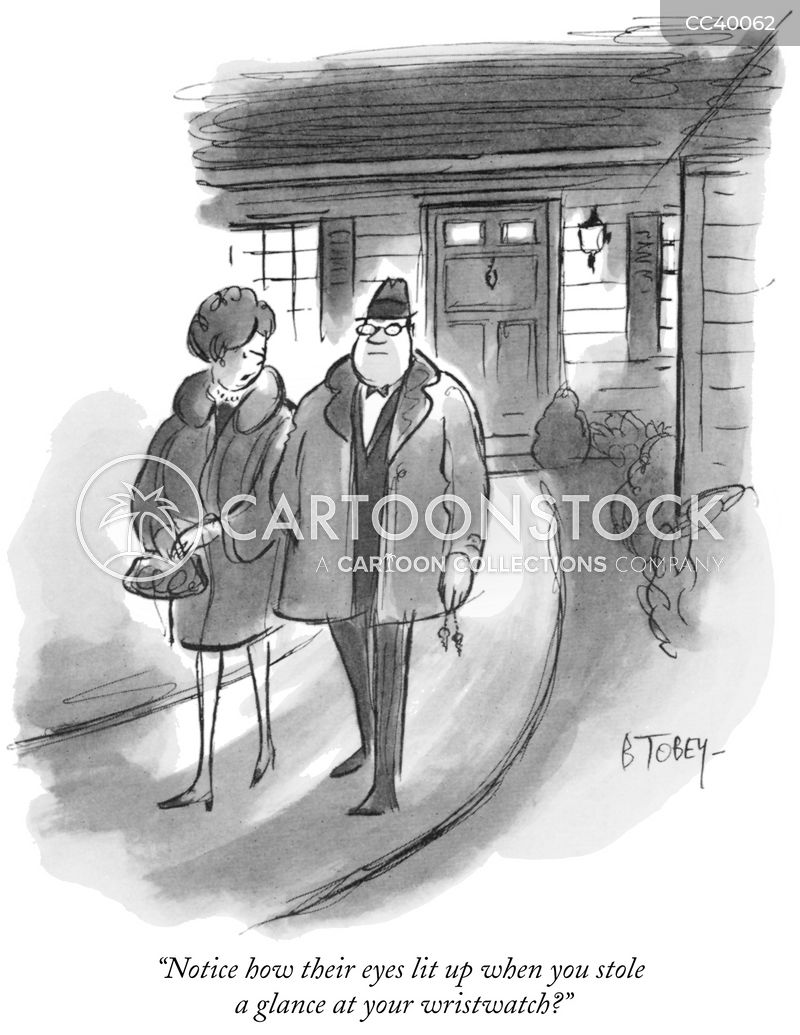 unwelcome guests cartoon