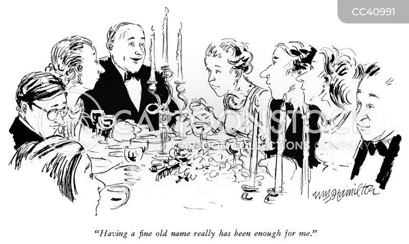 upper classes cartoon