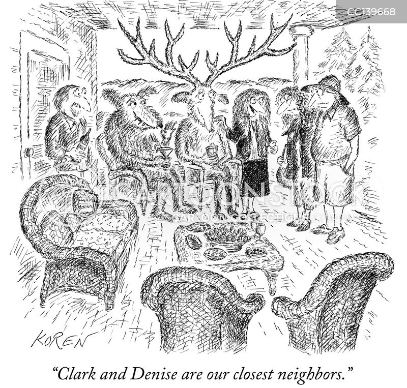 courteous cartoon
