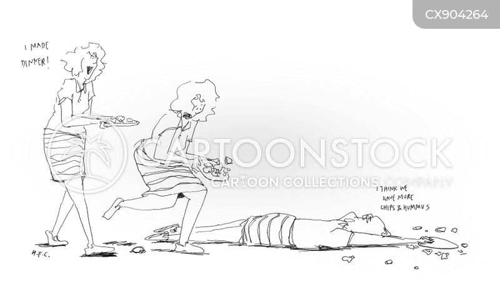vegetable portions cartoon