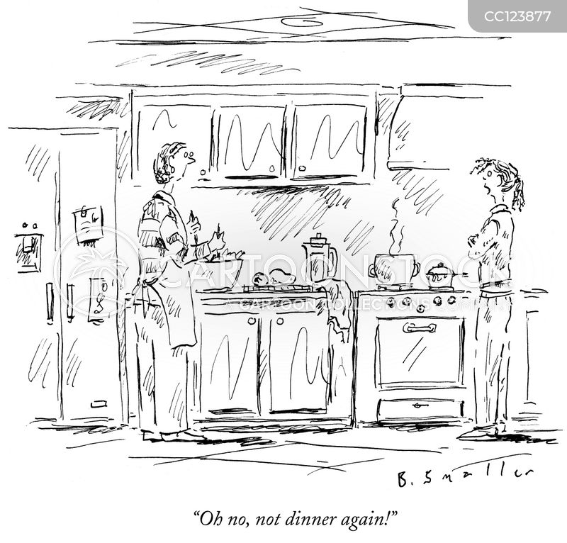 cooking cartoon