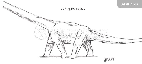palaeontologists cartoon