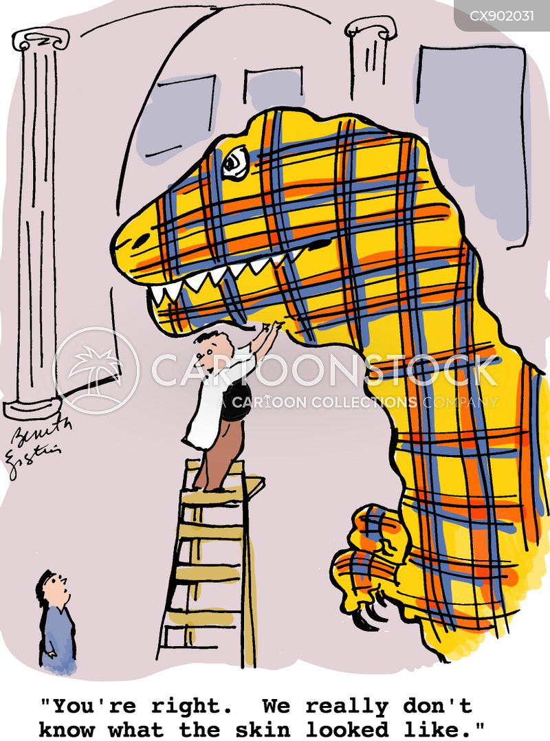 plaid cartoon