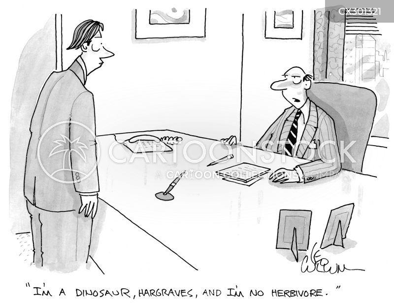 cutthroat business cartoon