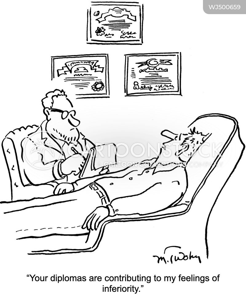 inferiority complexes cartoon