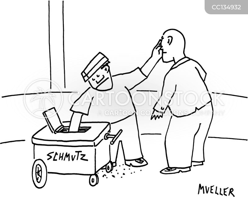 Yiddish cartoon