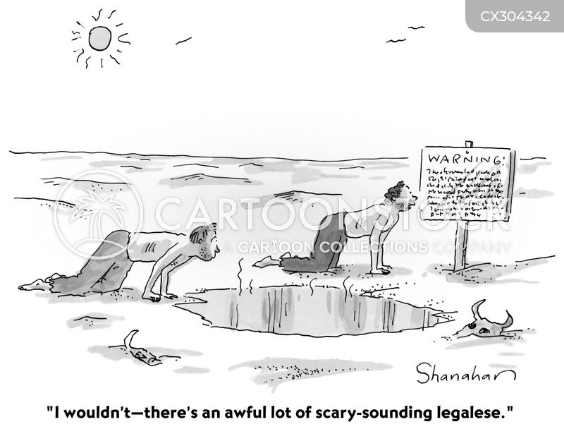 Legalese cartoon