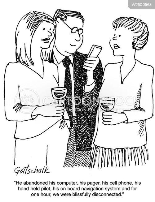 screen addictions cartoon