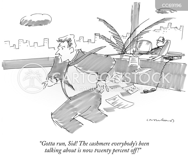 bargain cartoon