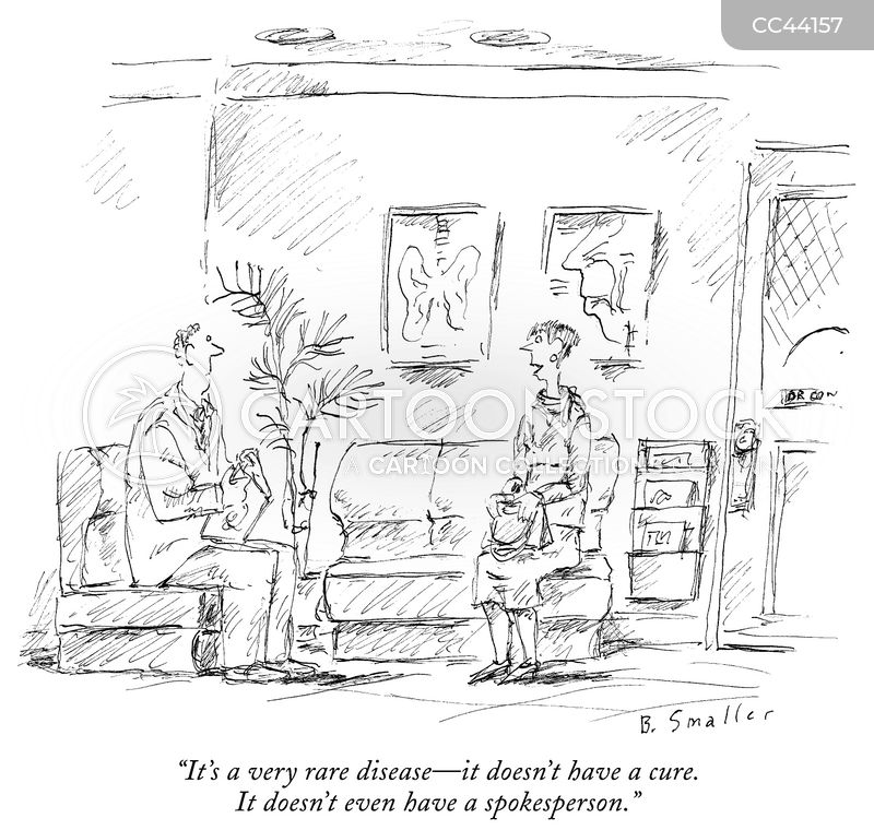 illnesses cartoon