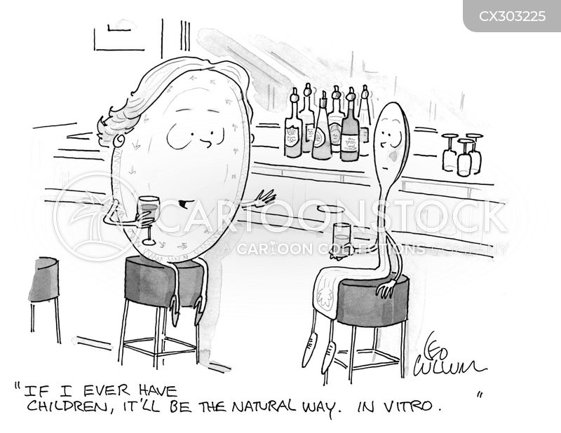 in vitro fertilization cartoon