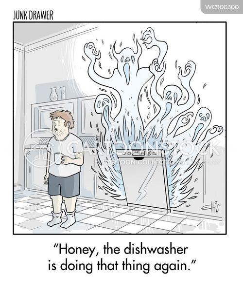 calls for help cartoon