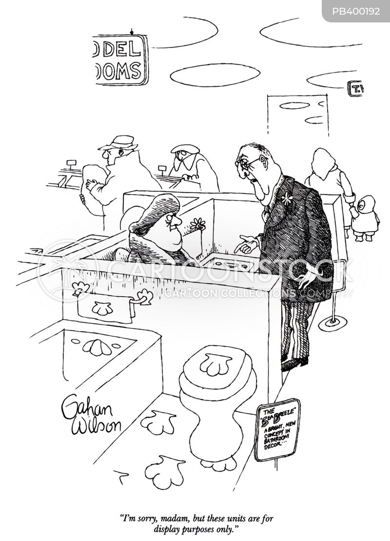 showrooms cartoon