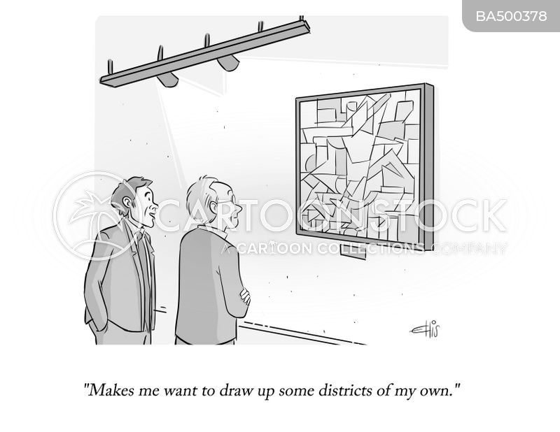 Draw Up Districts cartoon