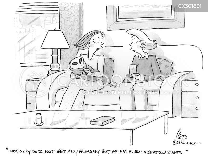 alimony payments cartoon