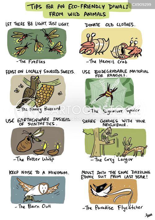 biodegradable cartoon
