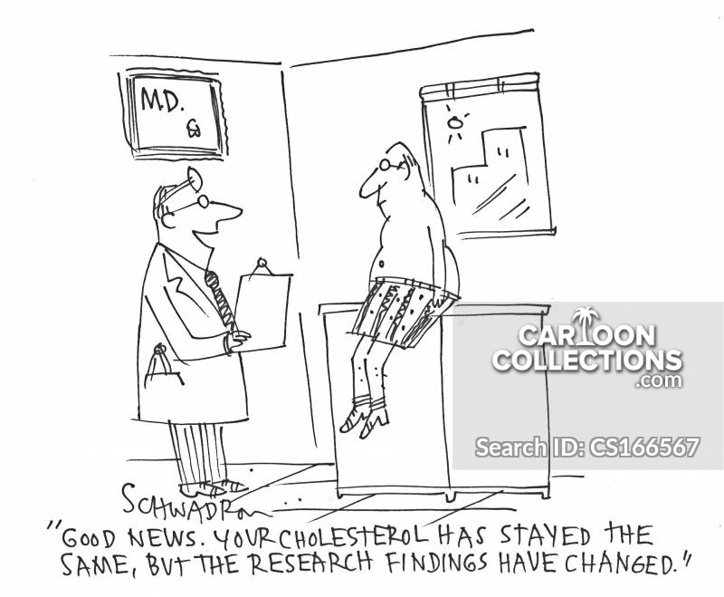 research findings cartoon