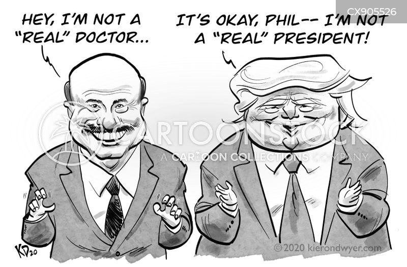 dr phil cartoon