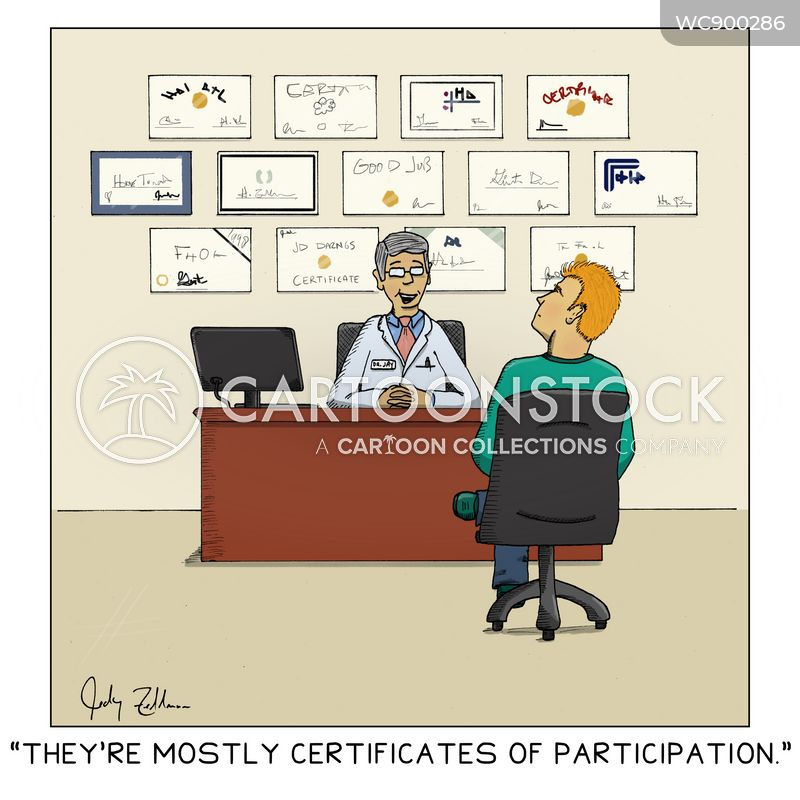 participants cartoon