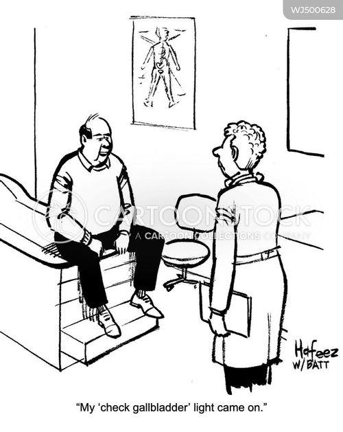 exam room cartoon