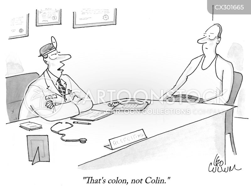 colons cartoon