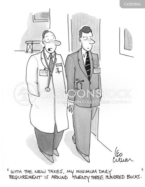 health care expenses cartoon