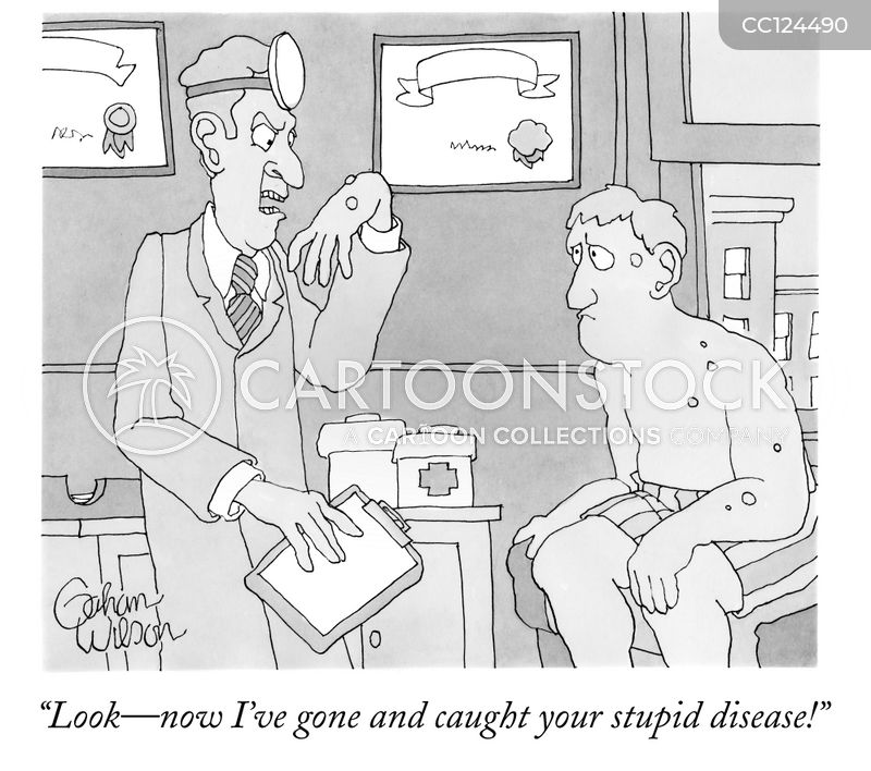 disease cartoon