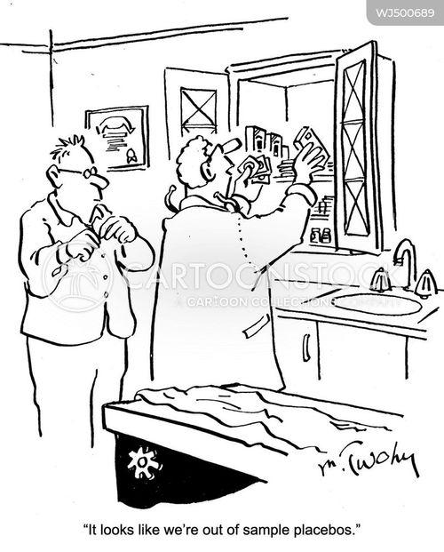 placebos cartoon