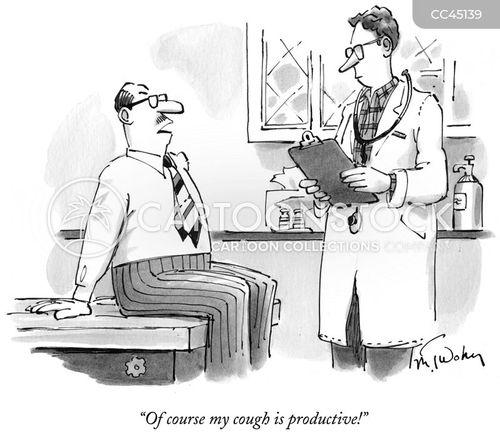 medical examination cartoon