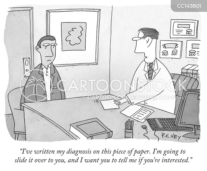 hypochondria cartoon