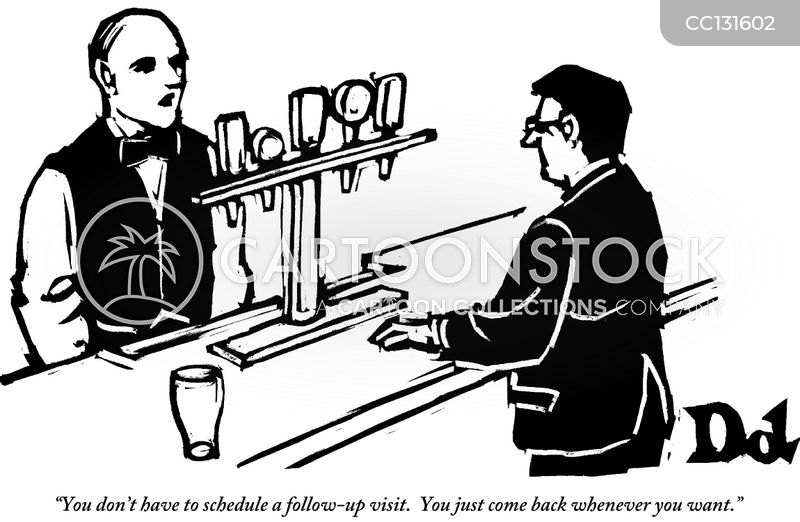 barmen cartoon