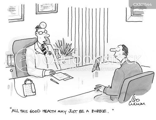 the stock exchange cartoon