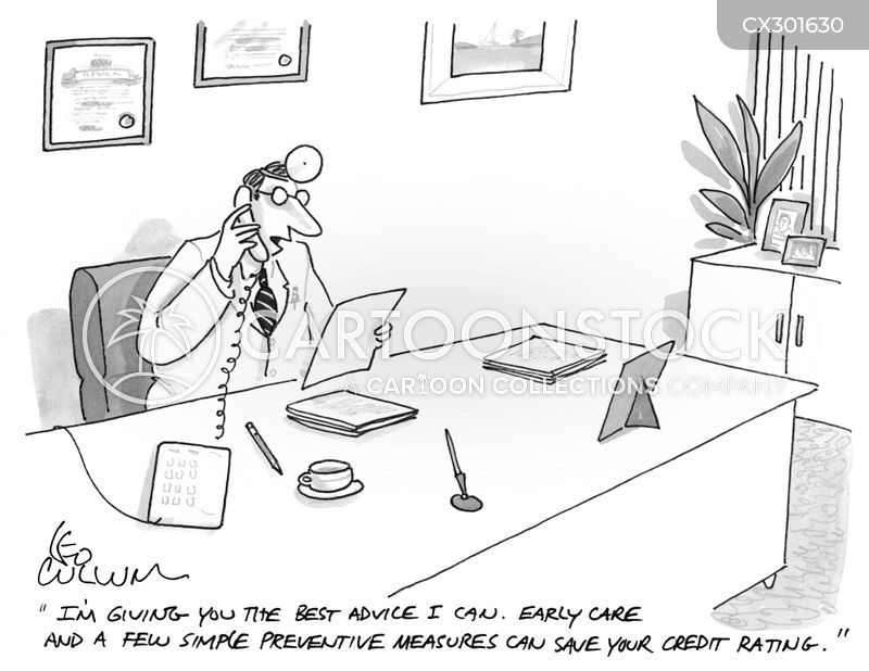 financial advice cartoon
