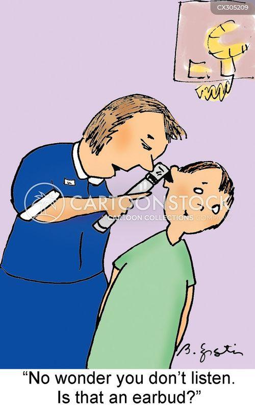 earbud cartoon