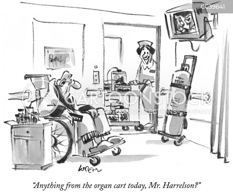 medical center cartoon