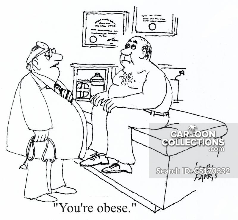 Clinically Obese cartoon