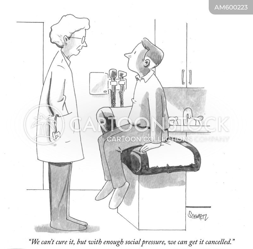 health problem cartoon