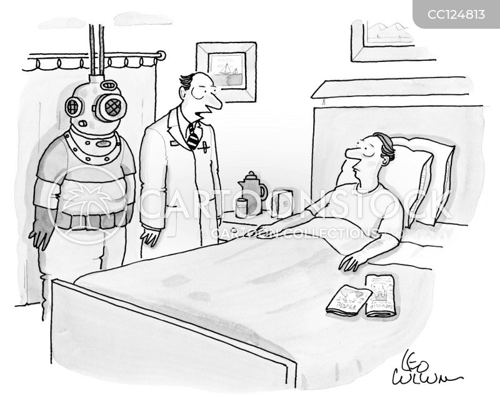 hospital beds cartoon