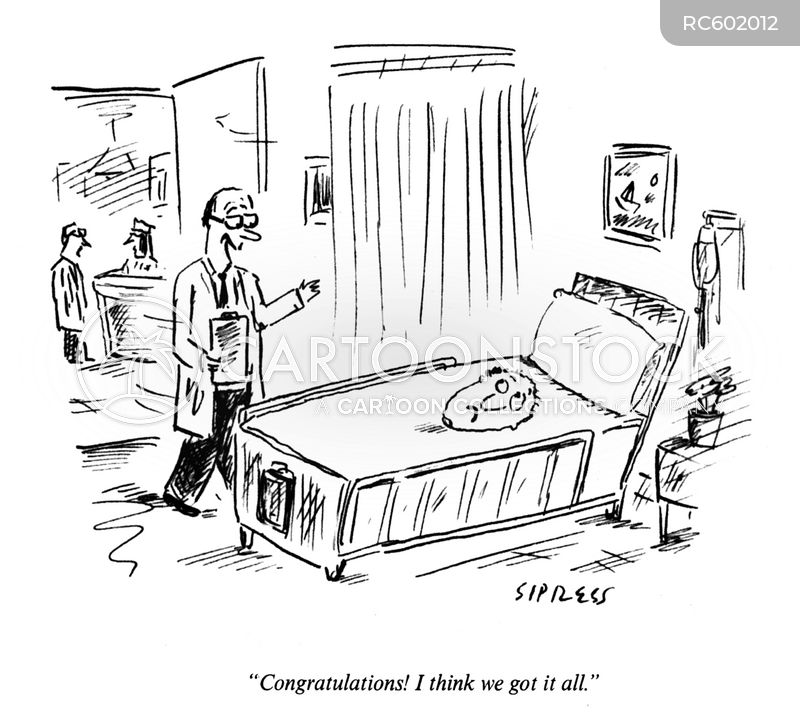 unwell cartoon